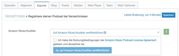 Podcast bei amazon music exporte Reiter