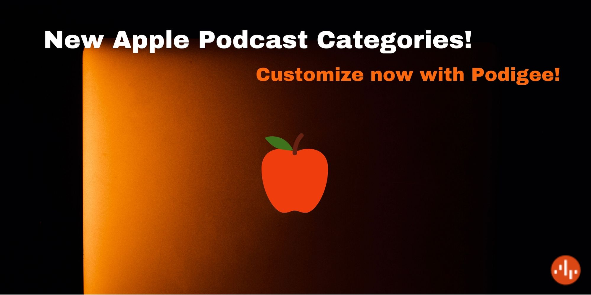New categories on Apple Podcasts