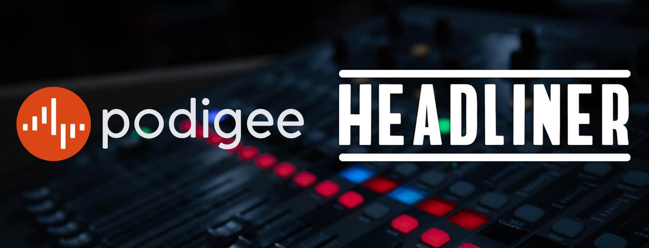 Jetzt neu bei Podigee: Audiogramme (powered by Headliner)!