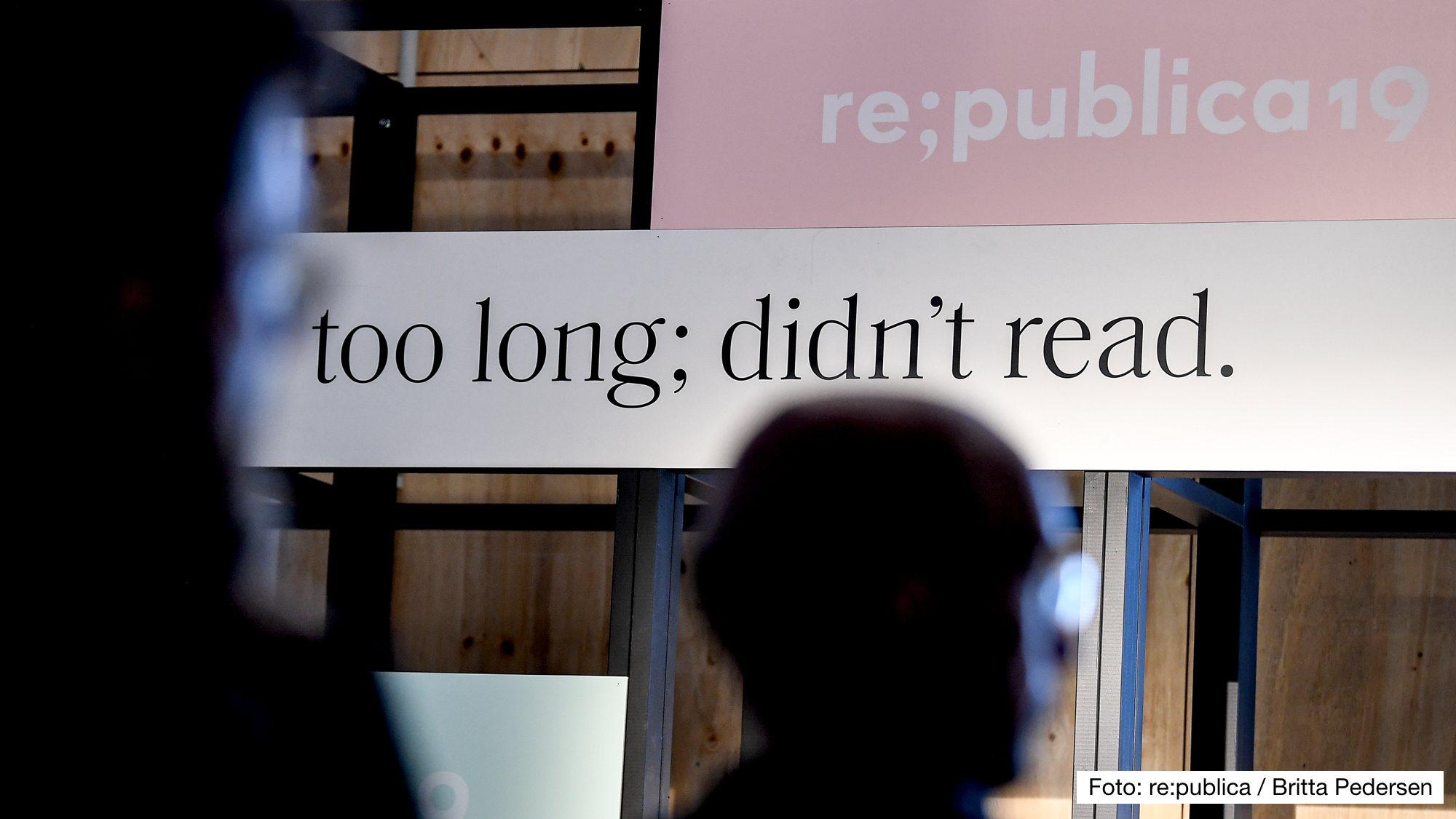 Podcast-Sessions auf der re:publica 19