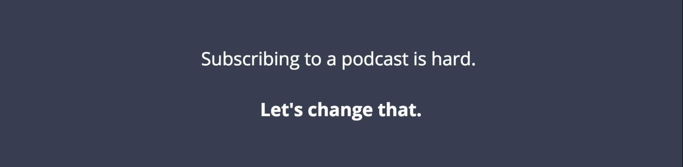 Welcome the redesigned Podlove Subscribe Button
